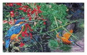 Kingfisher Art Panel