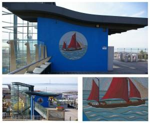 Southend Pier feature